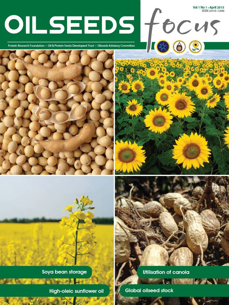 Cover of Oilseeds Focus Oilseeds Focus Vol 1 No 1 - April 2015