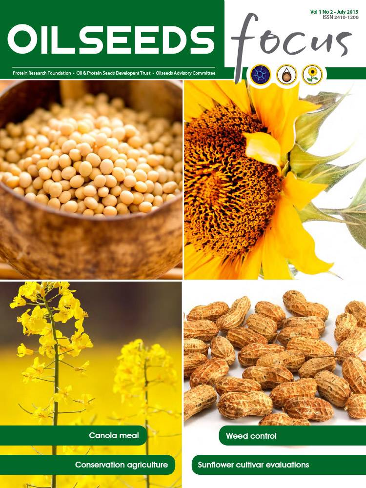 Cover of Oilseeds Focus Vol 1 No 2 – July 2015