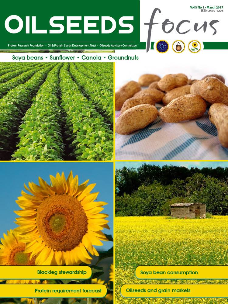 Cover of Oilseeds Focus Oilseeds Focus Vol 3 No 1 – March 2017