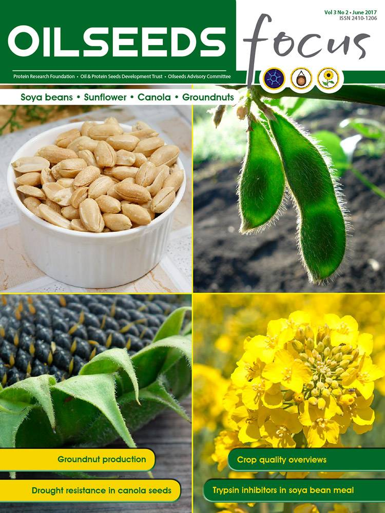 Cover of Oilseeds Focus Vol 3 No 2 – June 2017