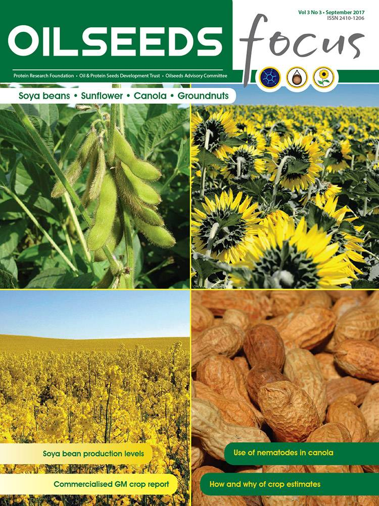 Cover of Oilseeds Focus Oilseeds Focus Vol 3 No 3 – September 2017