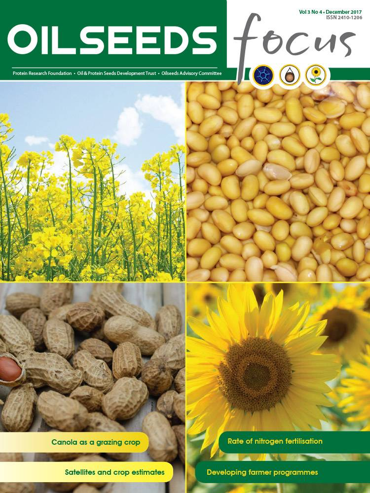 Cover of Oilseeds Focus Oilseeds Focus Vol 3 No 4 – December 2017