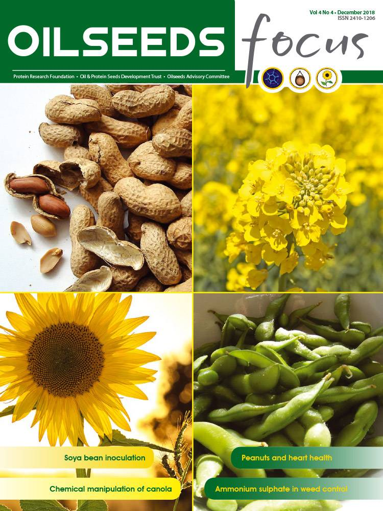 Cover of Oilseeds Focus Oilseeds Focus Vol 4 No 4 - December 2018