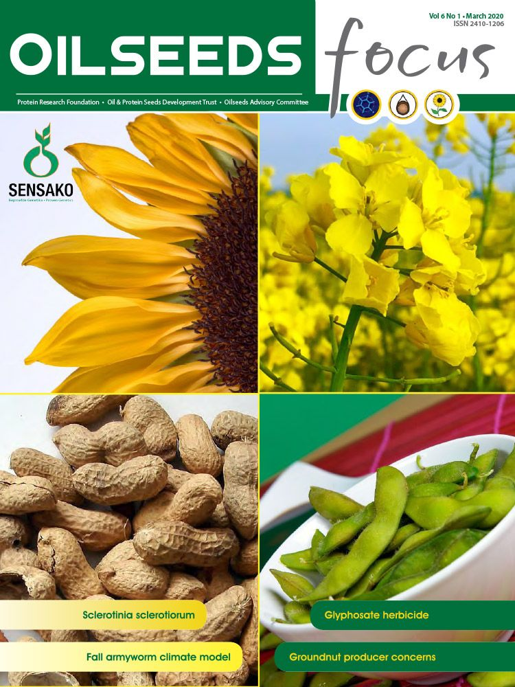 Cover of Oilseeds Focus Oilseeds Focus Vol 6 No 1 - March 2020